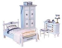 Schlafzimmer - Das Puppenhaus 1zu12