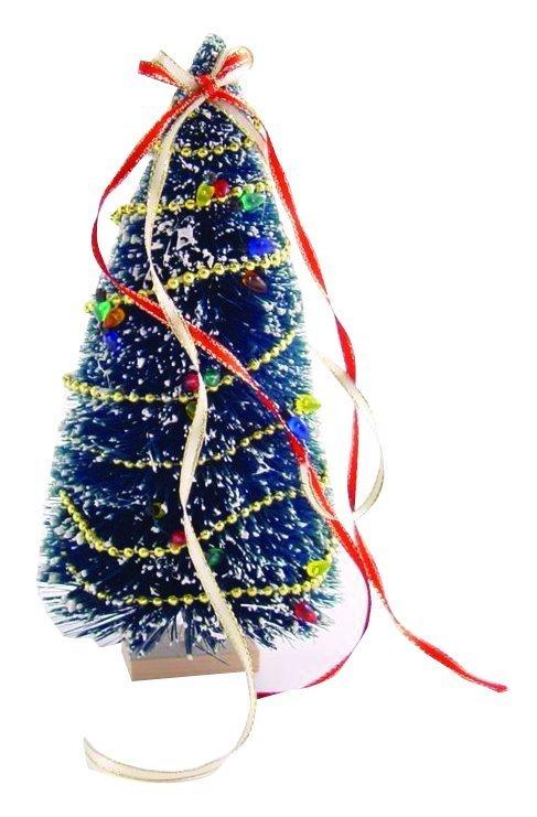 Fertig dekorierter weihnachtsbaum puppenhauszubeh r 1zu12 - Dekorierter weihnachtsbaum ...