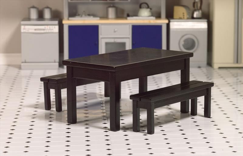 Modernes Esszimmer, Schwarz Lackiert ...