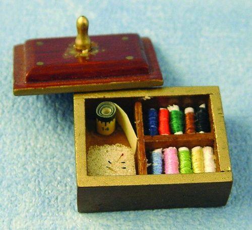miniaturen n hzimmer das puppenhaus 1zu12. Black Bedroom Furniture Sets. Home Design Ideas