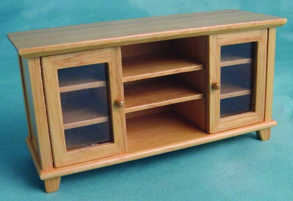 modernes sideboard eiche hell pinie puppenhausm bel. Black Bedroom Furniture Sets. Home Design Ideas