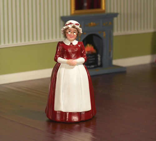 Mrs Claus - Puppe aus Resin